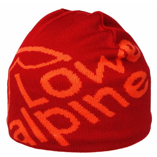 �iapka LOWE ALPINE Logo Beanie Autumn Red
