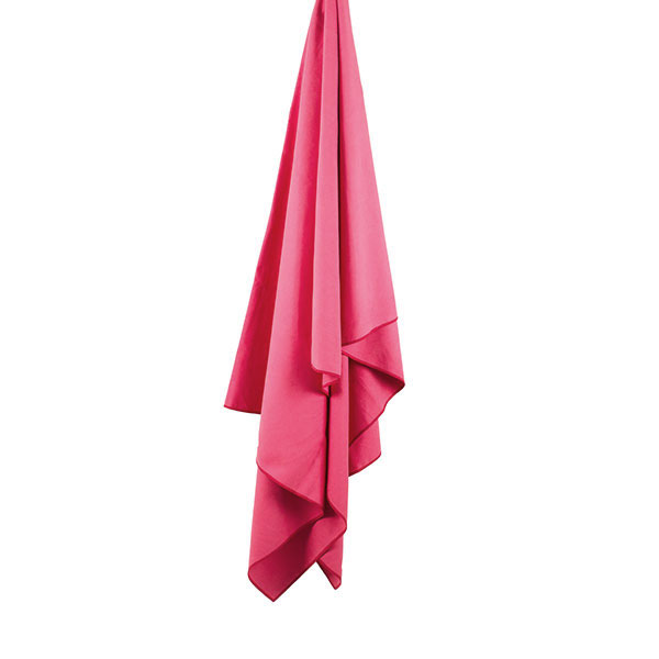uterák LIFEVENTURE SoftFibre Trek Towel Giant Pink