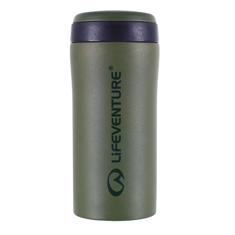termo pohár LIFEVENTURE Thermal Mug 300ml Matt Khaki