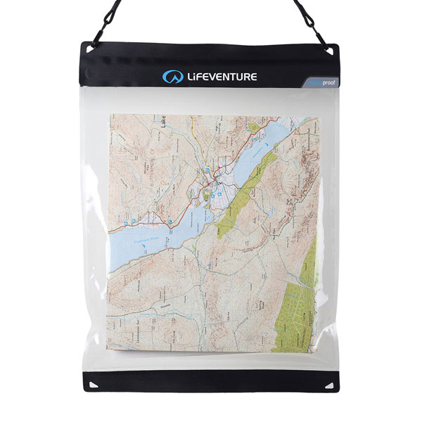 púzdro na mapu LIFEVENTURE DriStore Waterproof Map Case