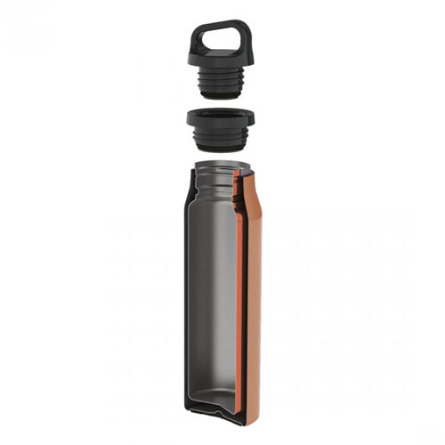 termo fľaša LIFEVENTURE Hot & Cold Vacuum Flask 500ml Copper