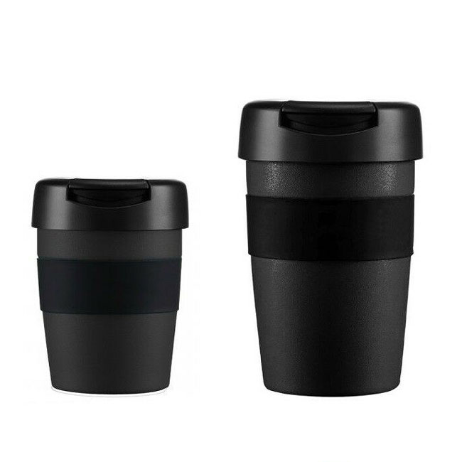 termo pohár LIFEVENTURE Insulated Coffee Cup 340ml Black