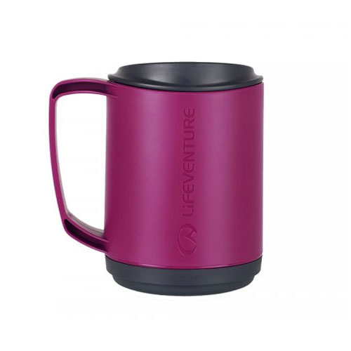 hrnček LIFEVENTURE Ellipse Insulated Mug 0.35 L Purple