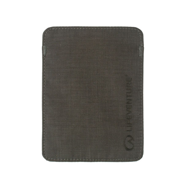 púzdro LIFEVENTURE RFiD Passport Wallet Grey