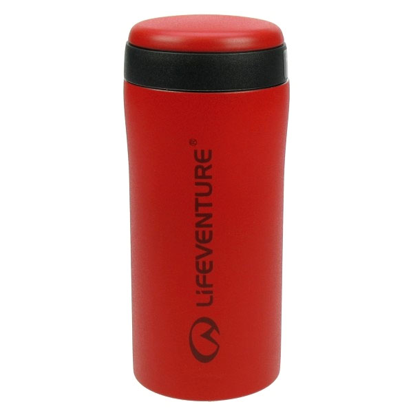 termo pohár LIFEVENTURE Thermal Mug 300ml Matt Red