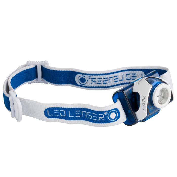 �elovka LED LENSER SEO 7R Blue/White