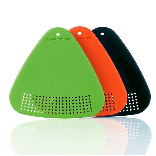 sada LIGHT MY FIRE Cutting Board Green/Orange/Black