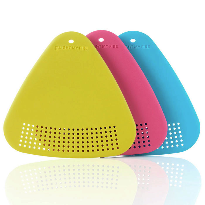 sada LIGHT MY FIRE Cutting Board Lime/Fuchsia/Cyan