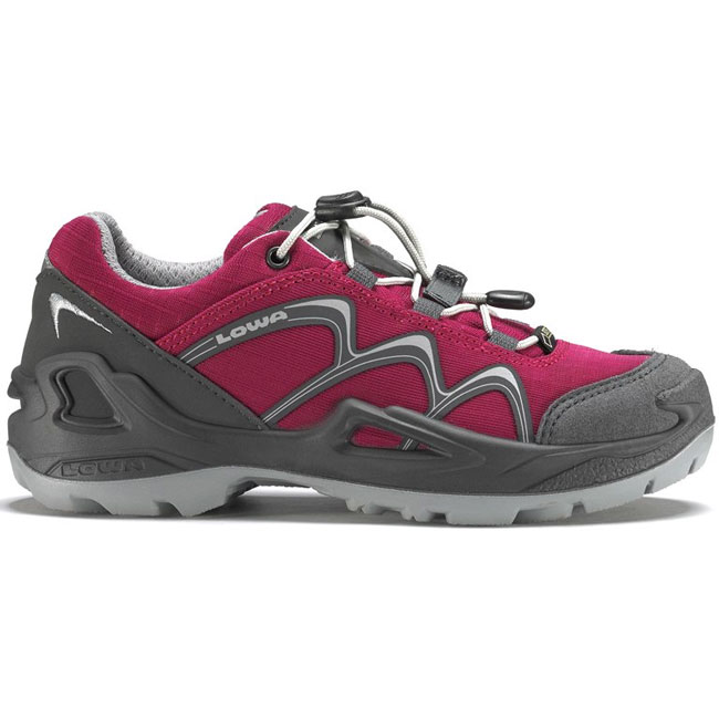 obuv LOWA Innox GTX Lo Junior Berry/Grey