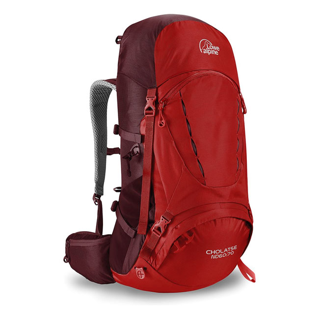 batoh LOWE ALPINE Cholatse ND 60:70 Rio Red