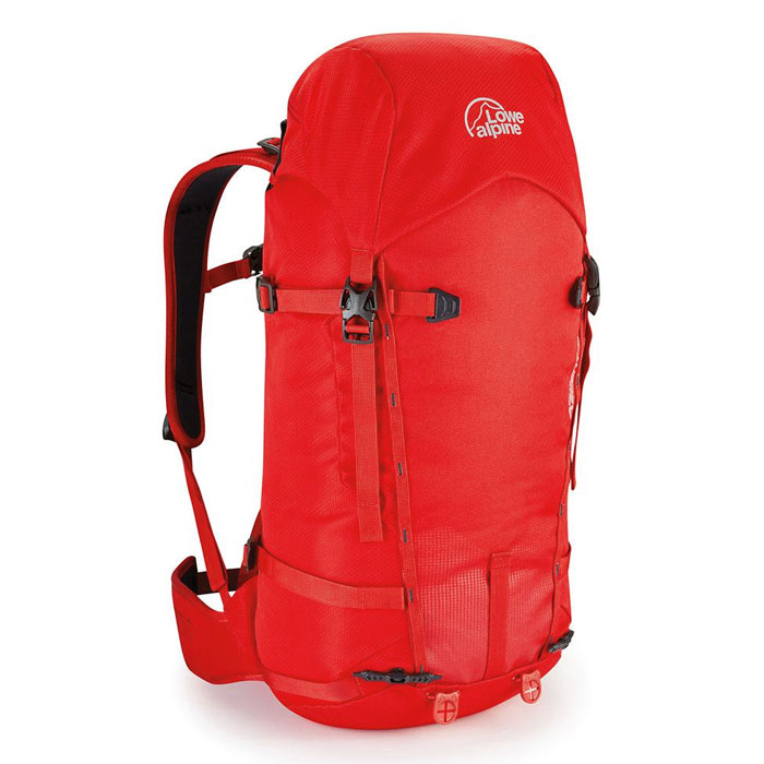 batoh LOWE ALPINE Peak Ascent 42 Haute Red