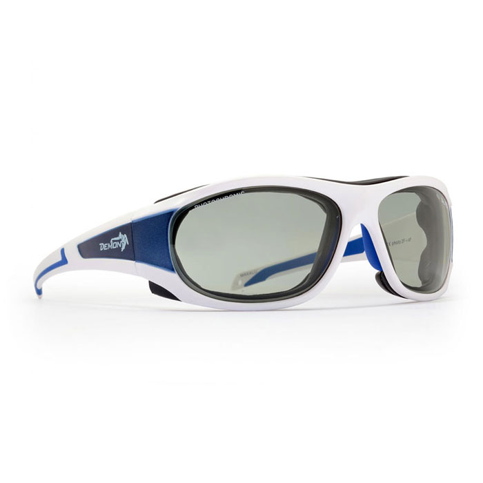 okuliare DEMON Makalu Photochromic White Blue