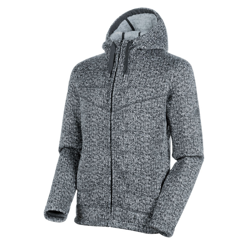 bunda MAMMUT Chamuera ML Hooded Jacket Men Shark