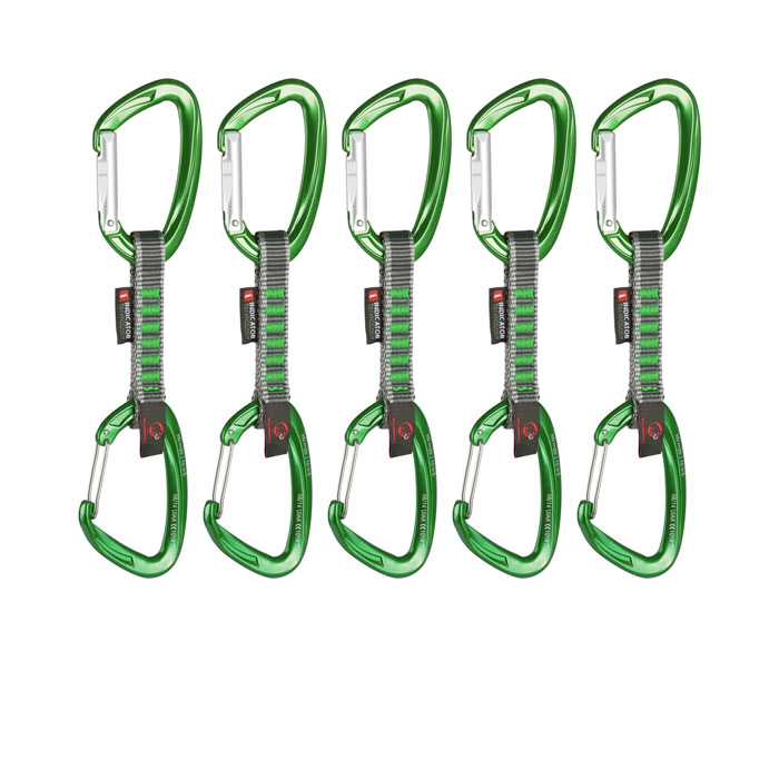 set expresiek MAMMUT 5er Pack Crag Indicator Wire Express Set