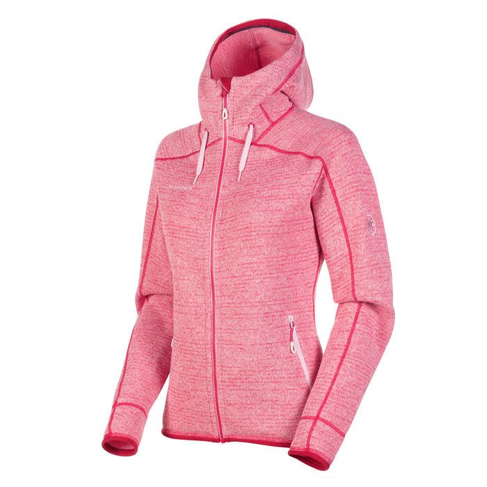 bunda MAMMUT Arctic ML Hooded Jacket W Blush-Dragon FruitMelange