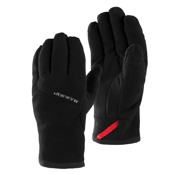 rukavice MAMMUT Fleece Glove 10 Black