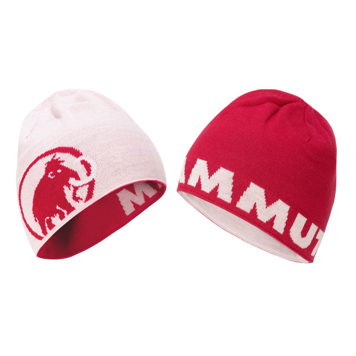čiapka MAMMUT Logo Beanie Dragon Fruit-Blush