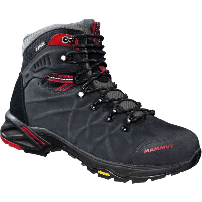 obuv MAMMUT Mercury Advanced High II GTX� Men Black-Dark Inferno