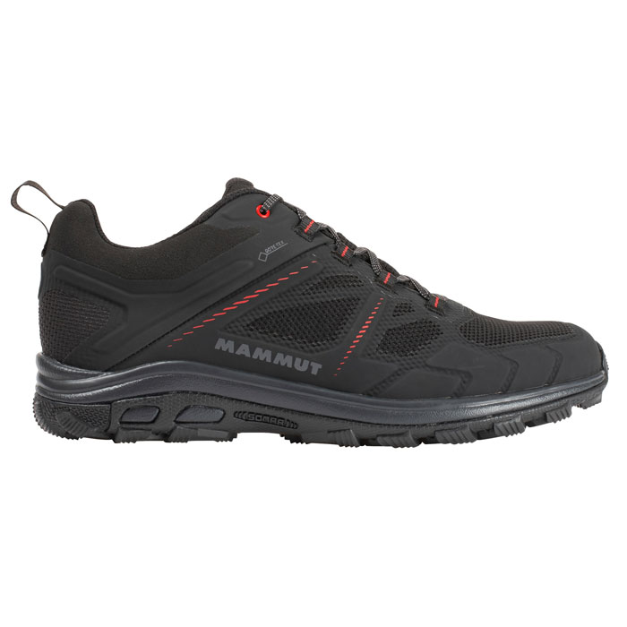 obuv MAMMUT Osura Low GTX Men Black-Phantom