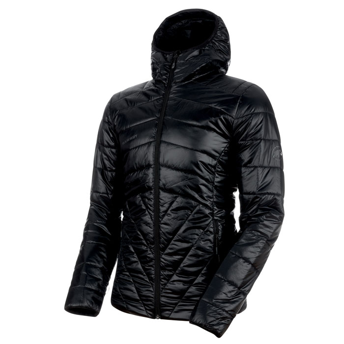 bunda MAMMUT Rime IN Hooded Jacket Men Black