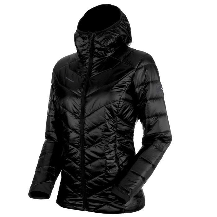 bunda MAMMUT Rime IN Hooded Jacket Women Black