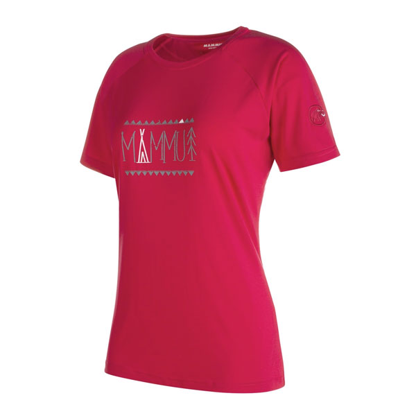 tričko MAMMUT Trovat Advanced T-Shirt Women Magenta