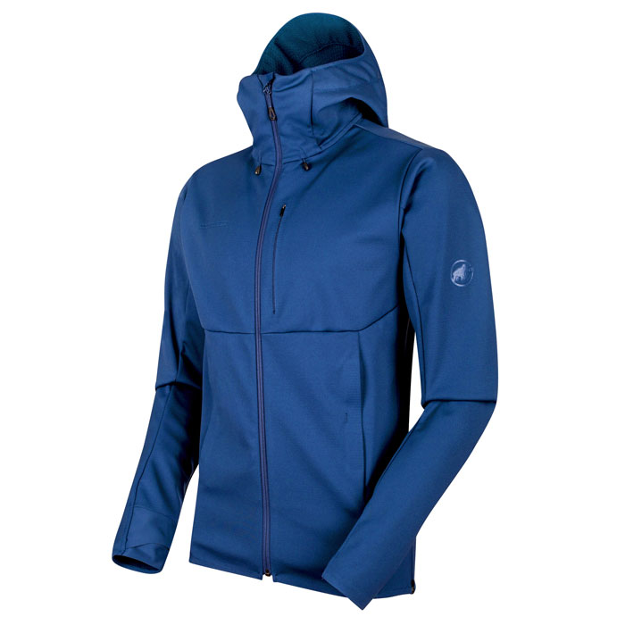 bunda MAMMUT Ultimate V SO Hooded Jacket Men Ultramarine