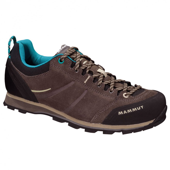 obuv MAMMUT Wall Guide Low Women Bark-Dark Taupe