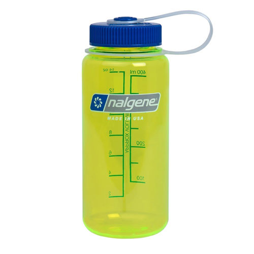 f�a�a NALGENE Wide Mouth 0.4 L Safety Yellow