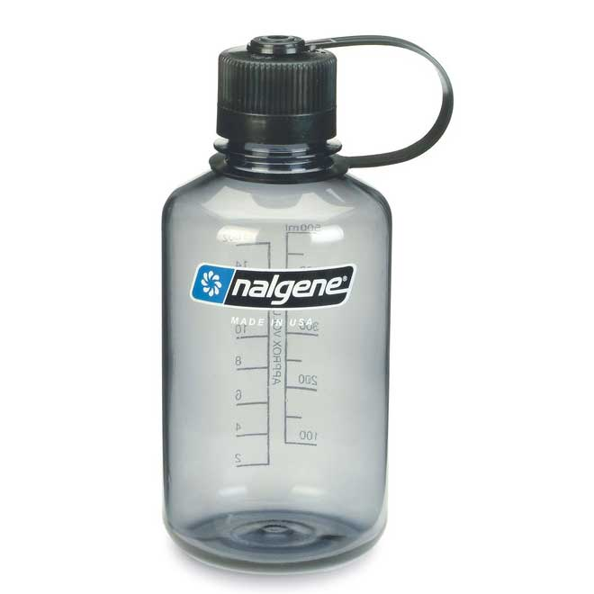 f�a�a NALGENE Narrow Mouth 0.5 L Gray