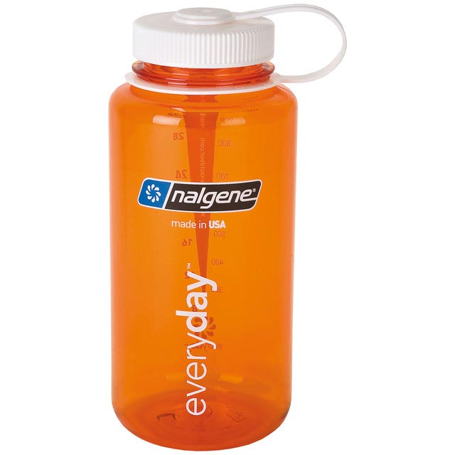 fľaša NALGENE Wide Mouth 1.0 L Orange