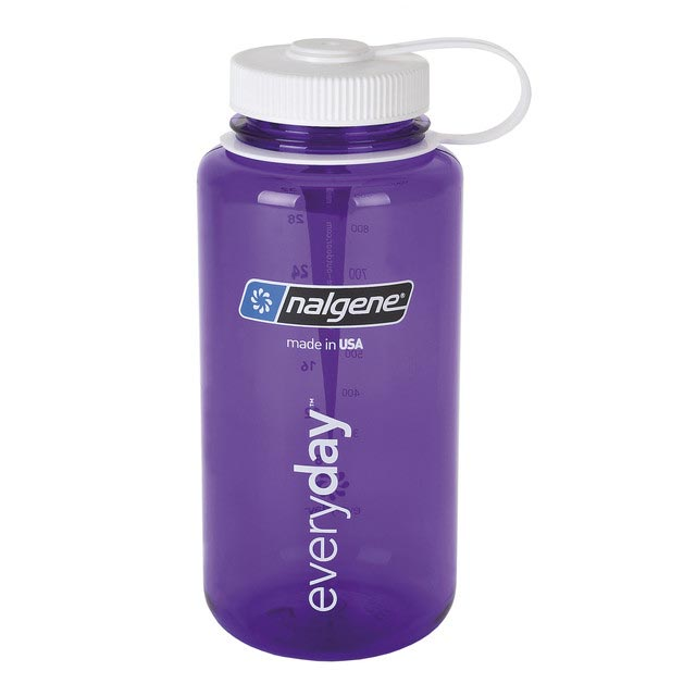 fľaša NALGENE Wide Mouth 1.0 L Purple