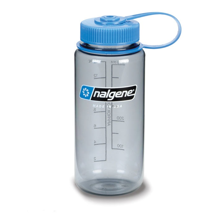 f�a�a NALGENE Wide Mouth 0.4 L Gray