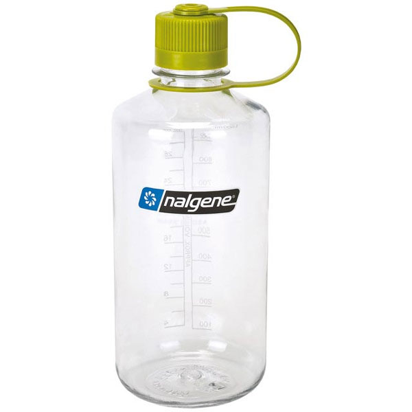 f�a�a NALGENE Narrow Mouth 1.0 L Clear