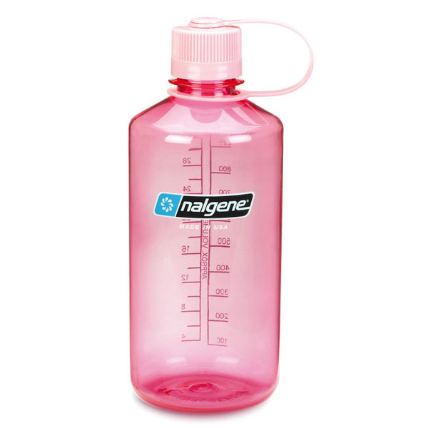 f�a�a NALGENE Narrow Mouth 1.0 L Pink