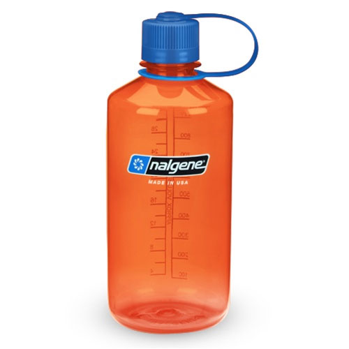 f�a�a NALGENE Narrow Mouth 1.0 L Orange