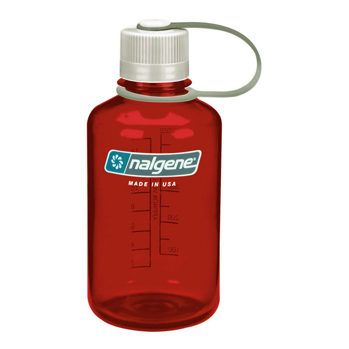 f�a�a NALGENE Narrow Mouth 0.5 L Outdoor Red