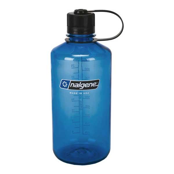 fľaša NALGENE Narrow Mouth 1.0 L Blue