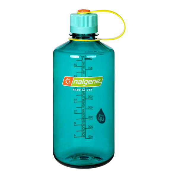 fľaša NALGENE Narrow Mouth 1.0 L Cerulean