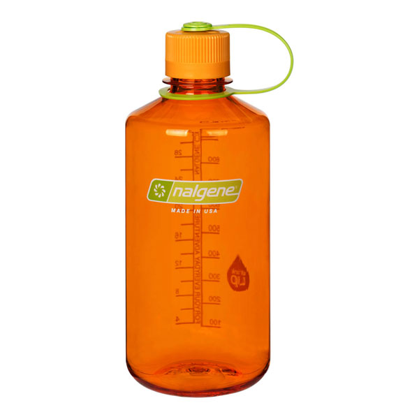 fľaša NALGENE Narrow Mouth 1.0 L Clementine
