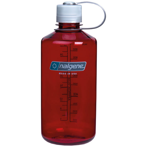 f�a�a NALGENE Narrow Mouth 1.0 L Outdoor Red