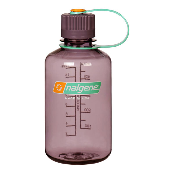 fľaša NALGENE Narrow Mouth 0.5 L Aubergine