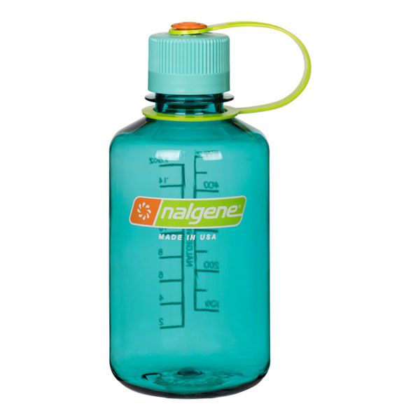 fľaša NALGENE Narrow Mouth 0.5 L Cerulean