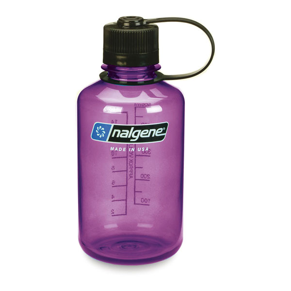 fľaša NALGENE Narrow Mouth 0.5 L Purple