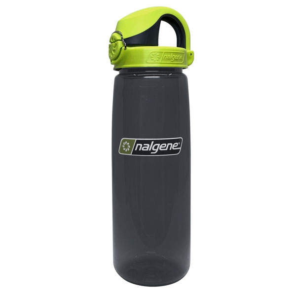 fľaša NALGENE On the Fly 0.65 L Charcoal Lime