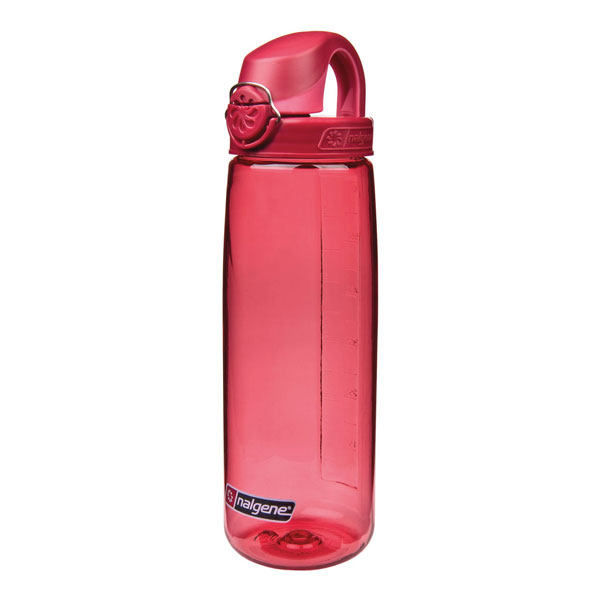 fľaša NALGENE On the Fly 0.65 L Petal Red