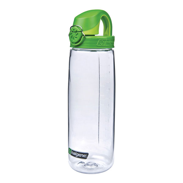 fľaša NALGENE On the Fly 0.65 L Green Clear