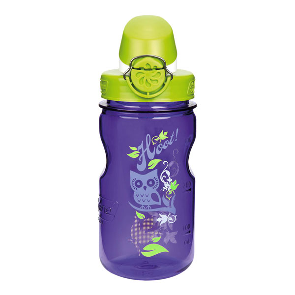 fľaša NALGENE OTF Kids 0.35 L Purple Hoot