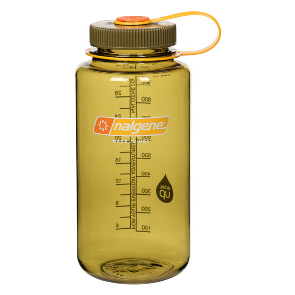 fľaša NALGENE Wide Mouth 1.0 L Olive