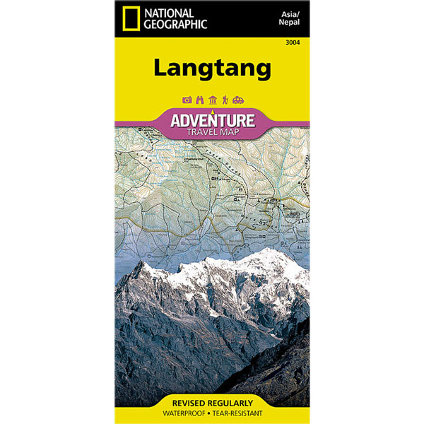 mapa NATIONAL GEOGRAPHIC: Langtang